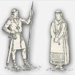 Muinaissuomalaiset mies ja nainen